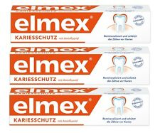 Elmex toothpaste. Caries protection 3 x 75 ml.