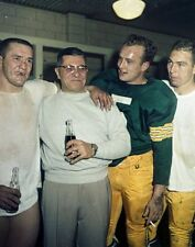 VINCE LOMBARDI B STARR HORNUNG 8X10 PHOTO GREEN BAY PACKERS FOOTBALL NFL PICTURE