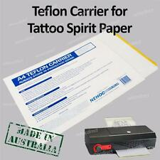 Carrier for Tattoo Paper - High Grade, Studio Quality, Long life, Heavy Duty