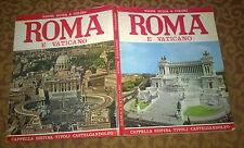 """Libri/Riviste/Giornali """" ROMA E VATICANO """" Santini/Plurigraf/1985"""