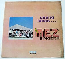 Philippines MEZ SINGERS Unang Labas OPM LP Record