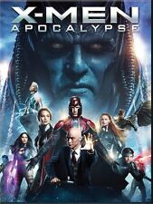 X-Men: Apocalypse (Blu-ray/DVD, 2016, 2-Disc Set)