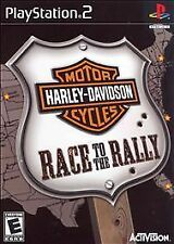 Harley-Davidson Motorcycles: Race to the Rally PS2 (Sony PlayStation 2) COMPLETE