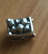 Pandora Silver & Garnet Sleigh Charm  790562GA