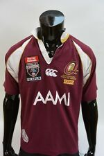 Canterbury State of Origin Queensland XXXX TEAM Rugby Shirt SIZE S (adults)