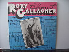 RORY GALLAGHER Blueprint POLYDOR RECORDS 2383 189 VINYL LP Free UK Post
