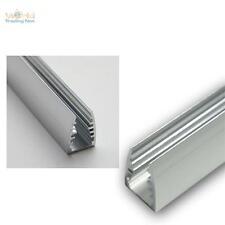 1m LED bordi in alluminio vetro per profilo di illuminazione