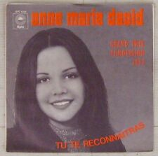 Anne-Marie David 45 Tours Eurovision 1973  Pressage Yougoslave !