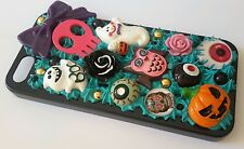 Hand Made Decoden halloween goth black IPhone 5/5s Case, I Phone - New - iphone