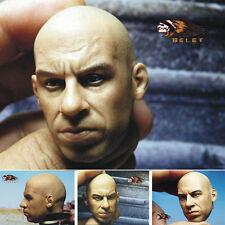 BELET Furious 7 Vin diesel HEADPLAY Dominic Toretto head carvin 1/6 FIGURE
