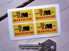 MARZOCCHI fourchettes & chocs stickers set de 4 MOTO GUZZI Ducati MV MORINI APRILIA
