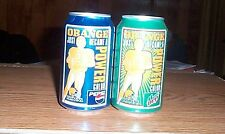 2  Browns Orange Power cans Pepsi.Cleve Browns.2002