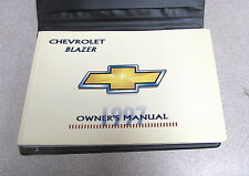 1997 Chevrolet Chevy Blazer Owners Owner's Manual w/Case