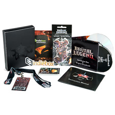 Brutal Legend: Collector's Edition IndieBox (PC) New Sealed with Steam Key MIB