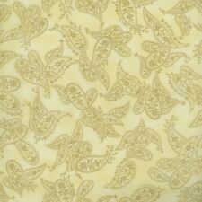 RJR Fabrics Yuko Hasegawa Heart and Home 1833 01 Cream Tonal Paisley Yardage