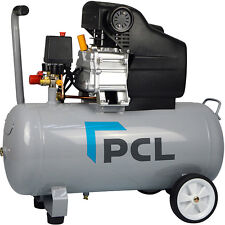 PCL Direct Drive Compressor 2.5hp 50ltr Tank With PCL Couplings 240V