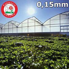 Telo serra Film in Polietilene Additivato 0,15mm copertura Serre e Tunnel al Kg