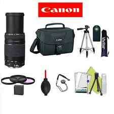 CANON EF 75-300mm f/4.0-5.6 III LENS + ES100 + REMOTE FOR CANON EOS 1100D T5 T3