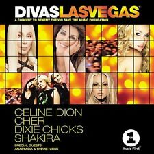 DIVAS LAS VEGAS Celine Cher Shakira Nicks (CD) Factory Sealed FREE SHIPPING