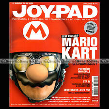 JOYPAD N°184 MARIO KART SPORE HIGLANDER APPLE IIE GRANT COLLIER PATAPON 2008