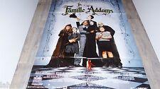 LA FAMILLE ADDAMS  !  affiche cinema
