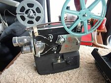 Vintage Wittnauer 8 mm Cine Twin 4 Lens Camera & Projector Works