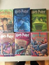 Harry Potter Set 6 PB Years 1-6 No writing, tears or obvious damage