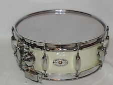 Vintage Rogers 5 x 14 Dynasonic Wood Snare Drum WMP Low Serial Bread Butter