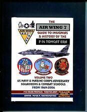 VOLUME 2 GRUMMAN F-14 TOMCAT US Navy Fighter Squadron Patch Reference Book