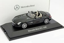 Mercedes-Benz SLS roadster obsidiana negro 1:43 Roadster