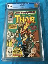 Thor #412 - Marvel - CGC 9.6 NM+ White Pages - 1st full New Warriors appearance