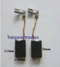 spazzole carboncini per BOSCH MARTELLO ROTANTE DEMOLITORE 1617014122 6.3X12.5mm