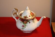Royal Albert Old Country Roses Tea Pot, Coffee Pot, Gravy Boat