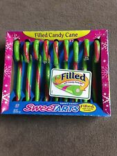 Sweetart Candy Canes 9 canes per box total 7 Boxes (63 Canes)Filled Tangy Candy