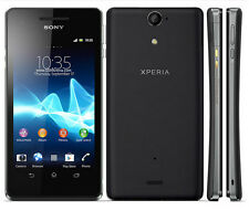 "New Unlocked Sony Xperia V LT25i 8GB Android Smartphone 4.3"" GPS 13MP Black"