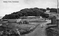 Old Photo. Portishead, North Somerset, UK. Battery Point
