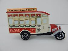 Dept 56 Christmas in the City Hollie's Lunch Truck #4042396 New in Box D56 CIC