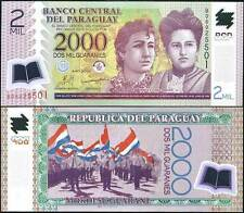 Paraguay - 2000 Guarani - UNC Polymer Currency Note