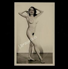 #16 rössler Akt foto 14 x 9 nude woman study * vintage 50s studio real photo pc