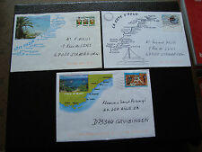 FRANCE - 3 enveloppes 2000 (cy41) french