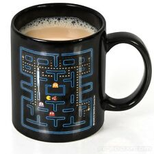 NEW PAC MAN HEAT CHANGE RETRO MUG ARCADE GAME NAMCO CERAMIC CUP ATARI GIFT TEA