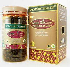 Wealthy Health Dark Organic Propolis 2000 / 365c