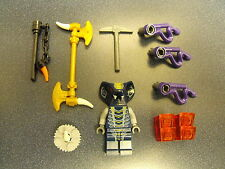 Lego Custom Mezmo Ninjago Minifigure With Weapons And More