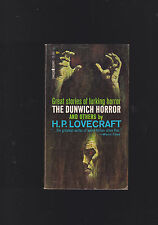VINTAGE PB.H.P.LOVECRAFT.THE DUNWICH HORROR. IST PRINTING.LANCER#72-702