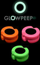 GLOW PEEP 3/16 PINK- THE ONLY PEEP SIGTH THAT WORKS IN COMPLETE DARKNESS
