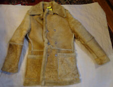 WILSONS Leather SUEDE SHEEPSKIN,SHEERLING,HEAVY MARLBORO MAN Jacket,M MEN,USA