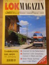 LOK MAGAZIN 201 - Nov/Dez 1996 Baureihe VT 628 Schneverdingen V 200 E 626 Popp
