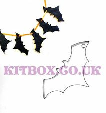 Bat Cookie Cutter- Perfect for Halloween Cookie Bunting and Cake Decoration
