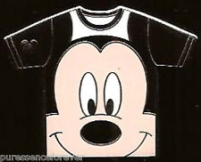 Disney Pin: WDW Hidden Mickey 2011 - Character T-Shirts: Mickey (Colour Chaser)