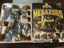Power rangers Legacy Megazord 20th Anniversary BLACK & GOLD Limited Edition RARE